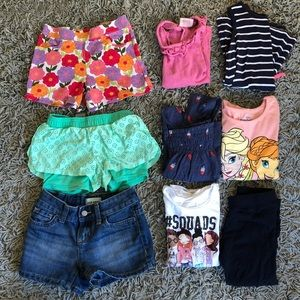 Girls size 6 Clothing Lot Bundle old navy carters